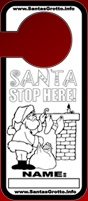 Free Christmas Door Hanger
