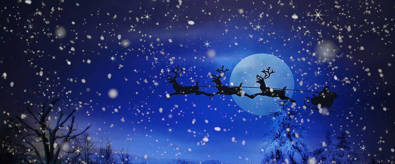 Does Santa ever go on holiday
