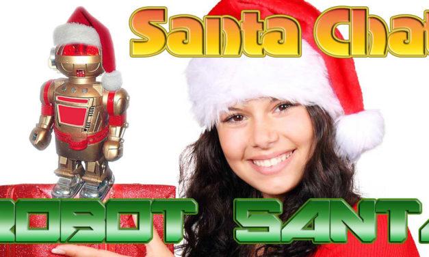 Robot Santa Chat